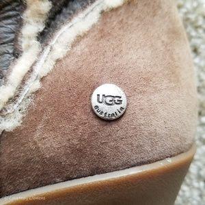 UGG Shoes - UGG Australia Sandra Tall Suede Wedge Boot